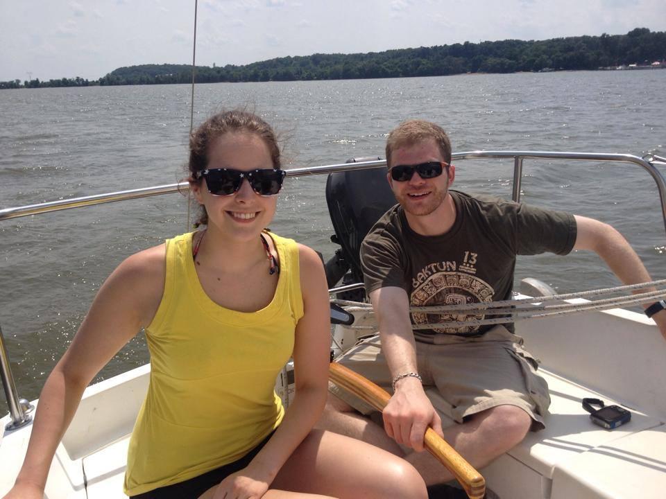 Fun sailors